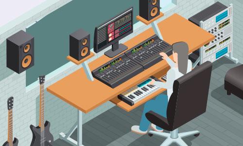 Estudio de edicion musical
