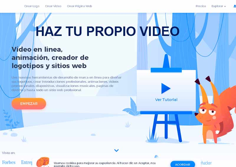 Haz tu video gratis
